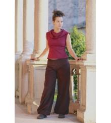 Pantaloni Round velluto