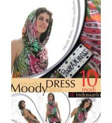 MOODY DRESS PRINT